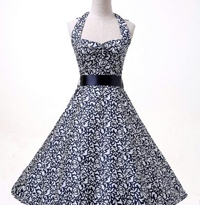 469c9a92a4816 Lottie' 50's style swing dress   The Retro Collection